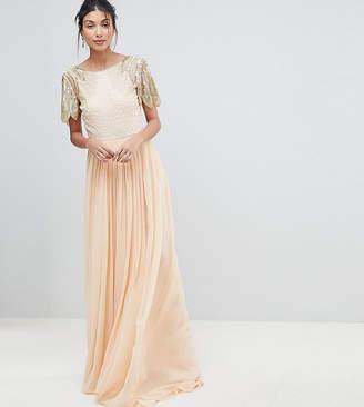 Virgos Lounge Tall Lena Maxi Dress With Embellishment