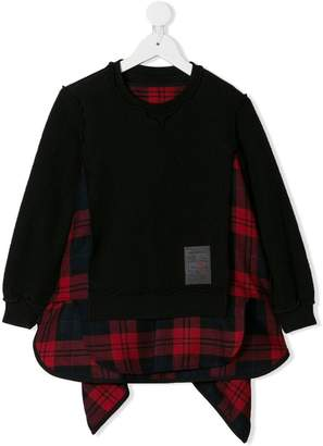 DSQUARED2 deconstructed layered sweatshirt