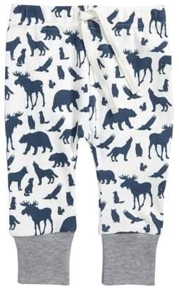 City Mouse Animal Print Organic Cotton Jogger Pants