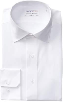 Lorenzo Uomo Oxford Extra Trim Fit Dress Shirt