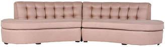 One Kings Lane Vintage Vladimir Kagan-style Sectional Sofa - Castle Antiques & Design