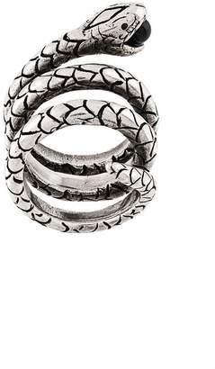 Saint Laurent snake ring