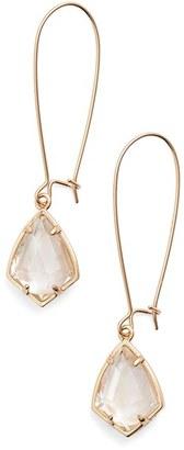 Women's Kendra Scott 'Carrine' Semiprecious Stone Drop Earrings $65 thestylecure.com