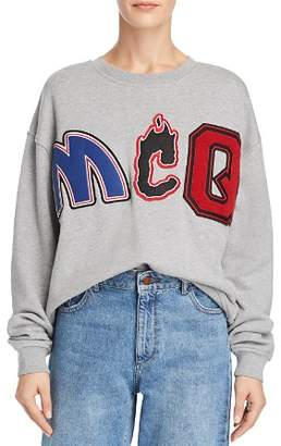 McQ Embellished Slouch Sweatshirt
