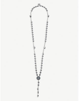 Jade Jagger The Rolling Stones x rosary medallion necklace