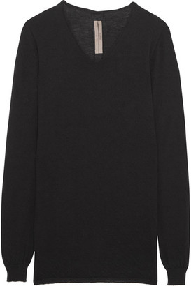 Rick Owens - Cashmere Sweater - Black $850 thestylecure.com
