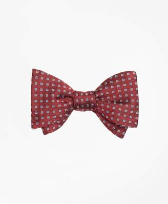 Brooks Brothers Alternating Squares Bow Tie