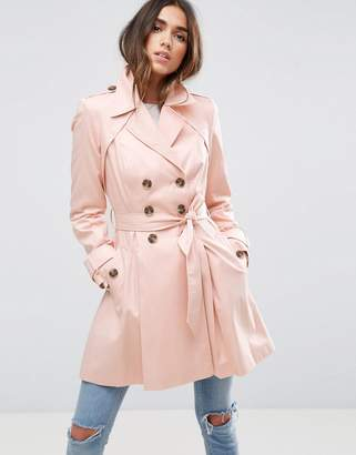 ASOS Skater Trench Coat $87 thestylecure.com