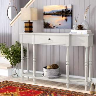 Loon Peak Kaiden Antiqued Console Table