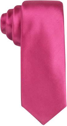 "Alfani Men's Pink 2.75"" Slim Tie, Created for Macy's $52.50 thestylecure.com"