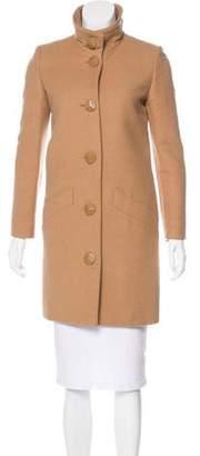 Stella McCartney Knee-Length Wool Coat