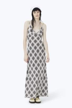 CONTEMPORARY Plaid Strap Dress