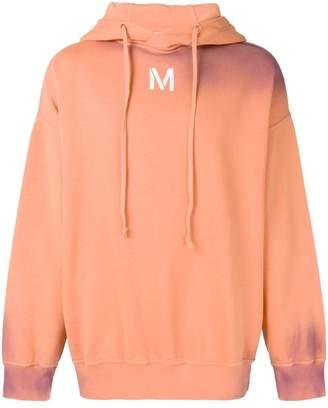 Damir Doma bleached effect hoodie