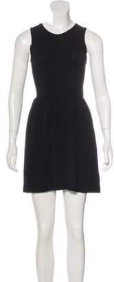 Zucca Mesh-Paneled Sleeveless Dress