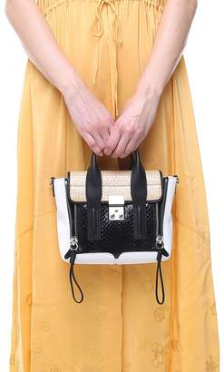3.1 Phillip Lim Mini Pashli Elaphe And Leather Cross-body Bag