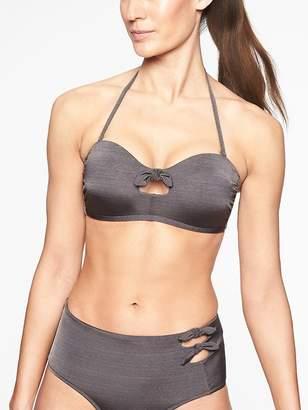 Athleta Aqualuxe Knot Bandeau Bikini Top