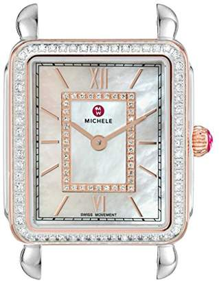 Michele Women's Swiss Quartz Stainless Steel Watch