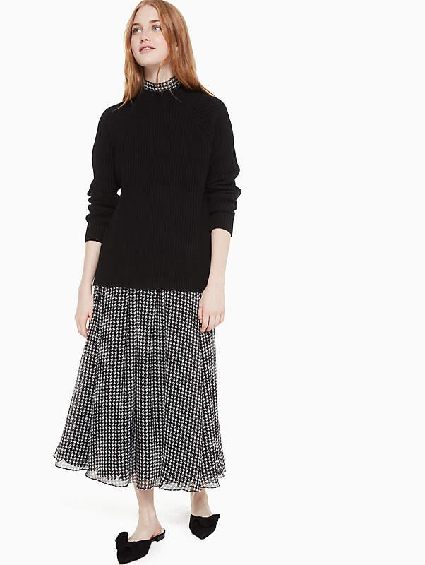 Raglan Turtleneck Sweater