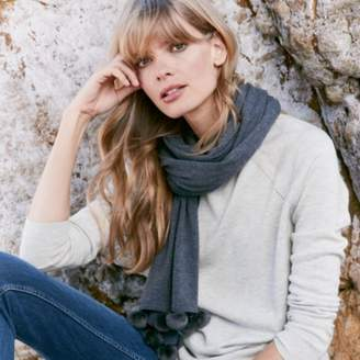 The White Company Sparkle Tipped Jumper with Wool