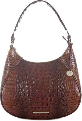 Brahmin Amira Melbourne Embossed Leather Hobo