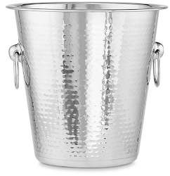 Williams-Sonoma Williams Sonoma Hammered Stainless-Steel Wine Bucket