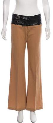Alvin Valley Wool-Blend Mid-Rise Pants