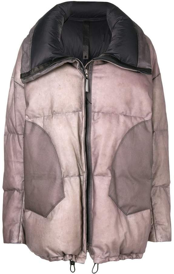 Experience bomber puffer coat