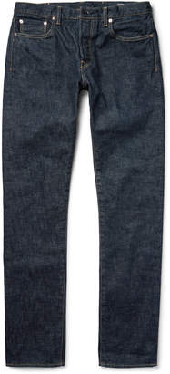 The Workers Club - Slim-Fit Selvedge Denim Jeans - Men - Blue