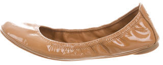 Tory Burch Tory Burch Patent Leather Ballet Flats