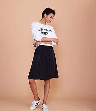 Lou & Grey Fluid Cupro Skirt