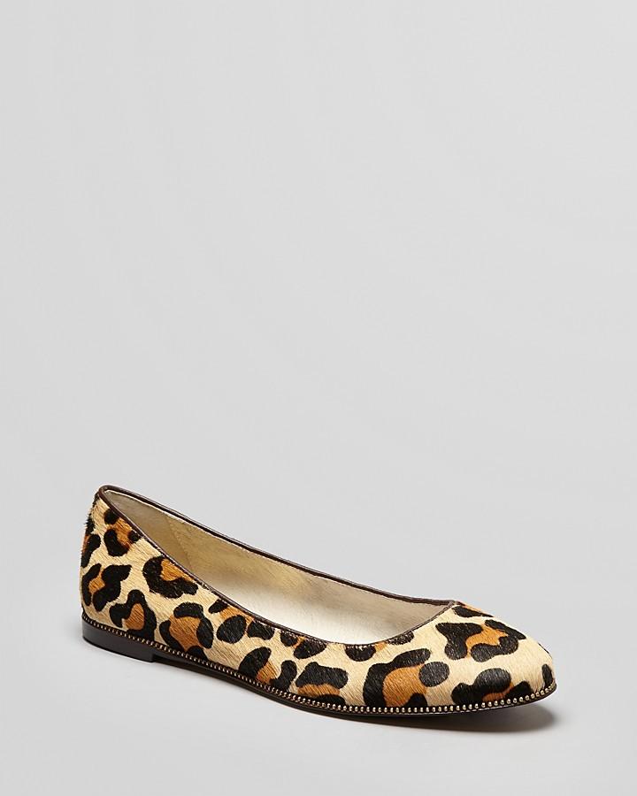 MICHAEL Michael Kors Ballet Flats - Bay View Leopard