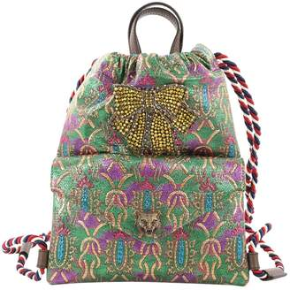 Gucci Animalier cloth backpack