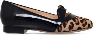 Charlotte Olympia Incy kitty velvet slippers 3-8 years