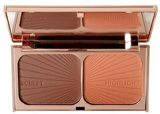 Charlotte Tilbury 'Filmstar Bronze & Glow' Medium To Dark Face Sculpt & Highlight - No Color $68 thestylecure.com