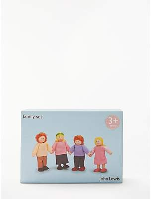 John Lewis Doll's House Accessories, Family Set