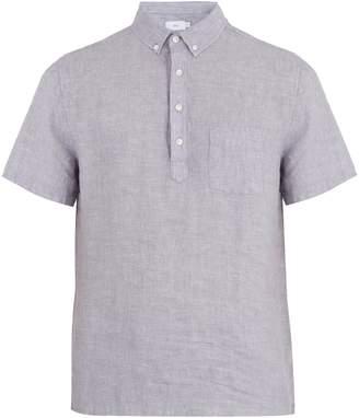 Onia Josh short-sleeved linen polo shirt