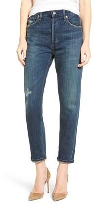Women's Citizens Of Humanity Liya High Waist Slim Boyfriend Jeans $268 thestylecure.com