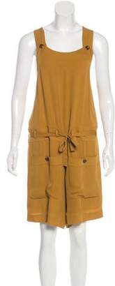 a778a7f31c54 Pre-Owned at TheRealReal · Chloé Sleeveless Short Overalls