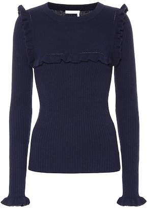 See by Chloe Alpaca-blend sweater