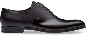 Prada dual-texture Oxford shoes