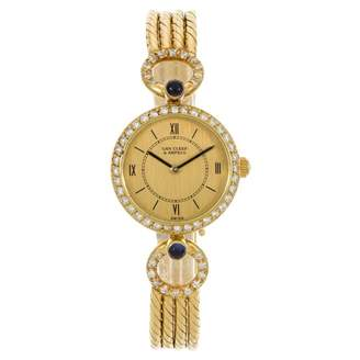 Van Cleef & Arpels Art Déco yellow gold watch
