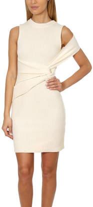 3.1 Phillip Lim Draped Wool Twist Tank Dress