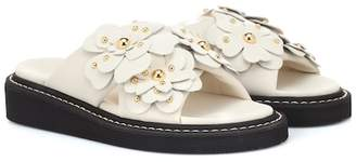 See by Chloe Lili embellished leather sandals