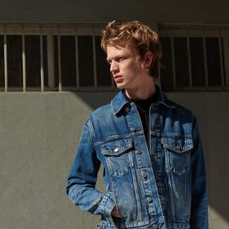 Sandro Vintage-style denim jacket