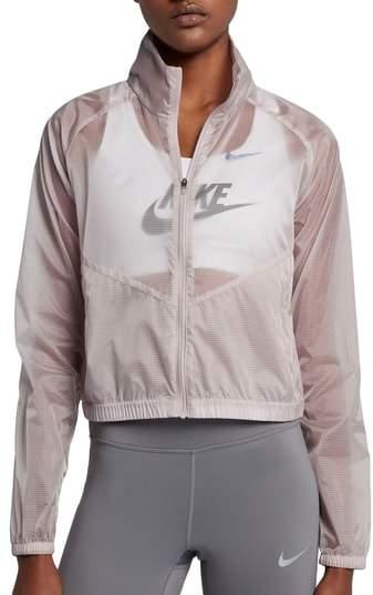 Transparent Gem Women's Running Jacket