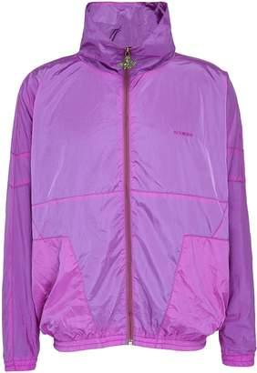 Vetements 'Angel' zip pull stand collar unisex track jacket