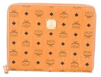 MCM Leather Visetos Portfolio