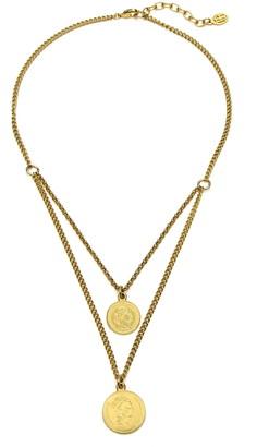 Ben-Amun Layered Coin Necklace