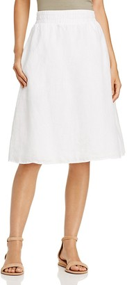 Eileen Fisher Linen Flare Skirt - 100% Exclusive $228 thestylecure.com