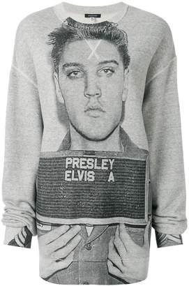 R 13 Elvis Presley スウェットシャツ